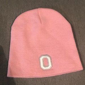 Pink Ohio State Buckeyes hat
